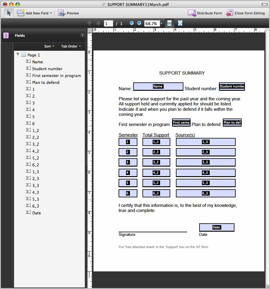 Create Fillable Pdf Form Acrobat Pro