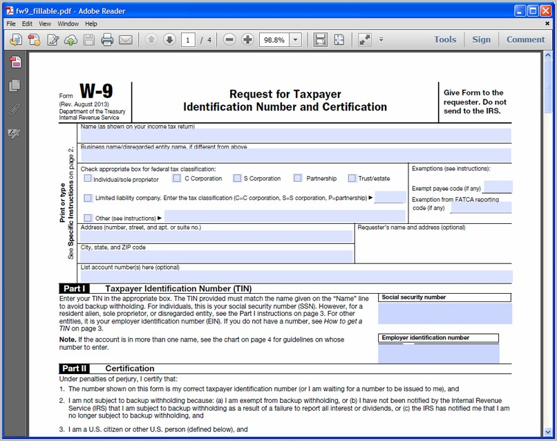 Create Fillable Pdf Form From Word Document