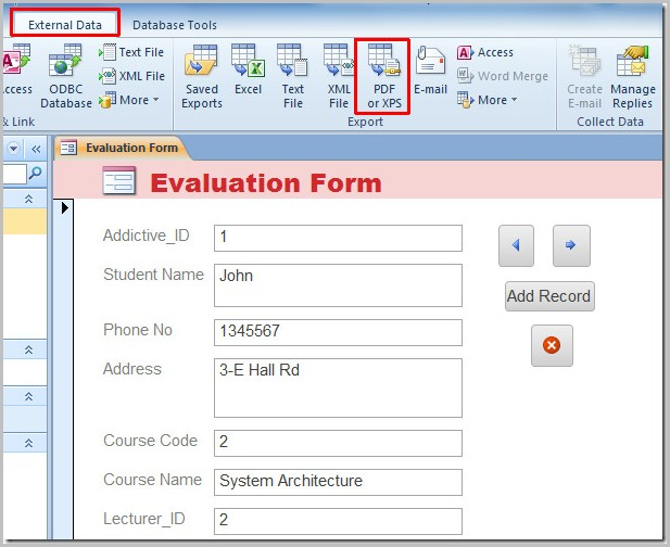 Creating Fillable Pdf Forms In Excel