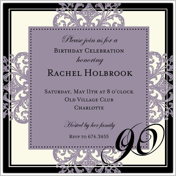 Free Online Invitation Templates Uk