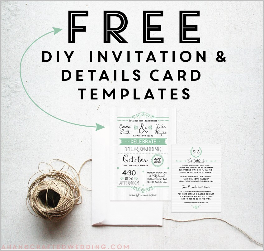Free Online Wedding Invitation Templates Download