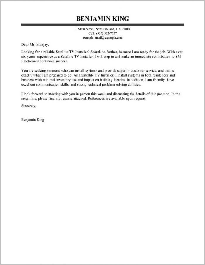 Free Sample Cover Letter For Customer Service Rep