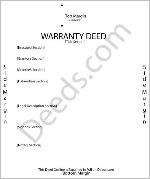 General Warranty Deed Form Pennsylvania