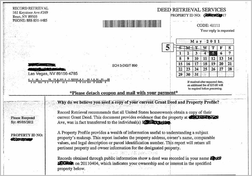 Grant Deed Form Clark County Nevada
