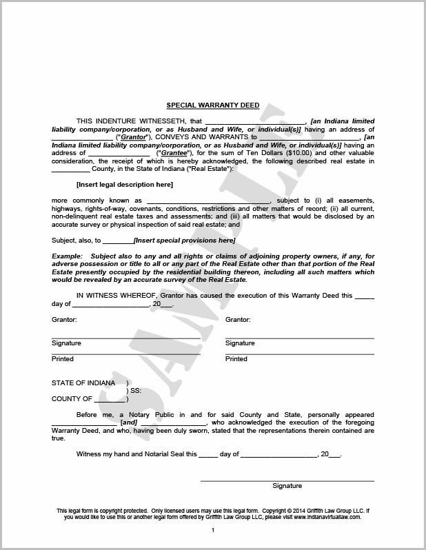 Grant Deed Form Santa Clara County