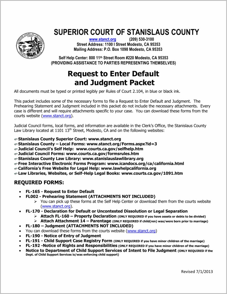 Grant Deed Form Stanislaus County