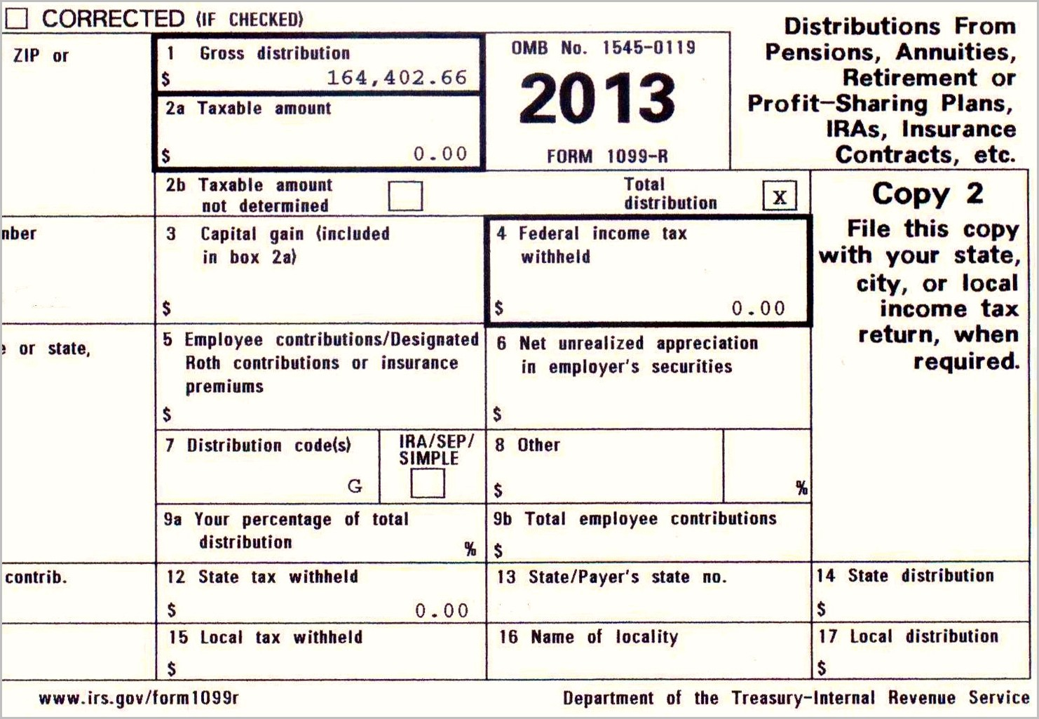 Irs 1099 Form Int 2014