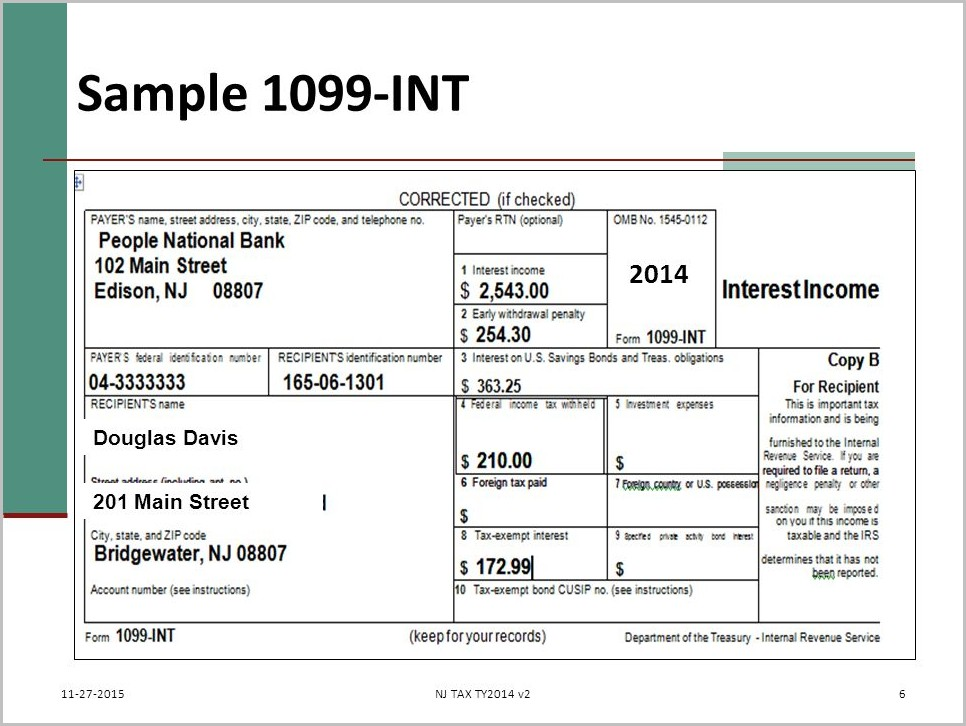Irs 1099 Form Preparation