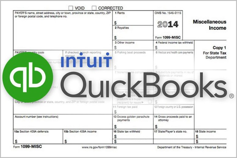 Irs 1099 Form Quickbooks