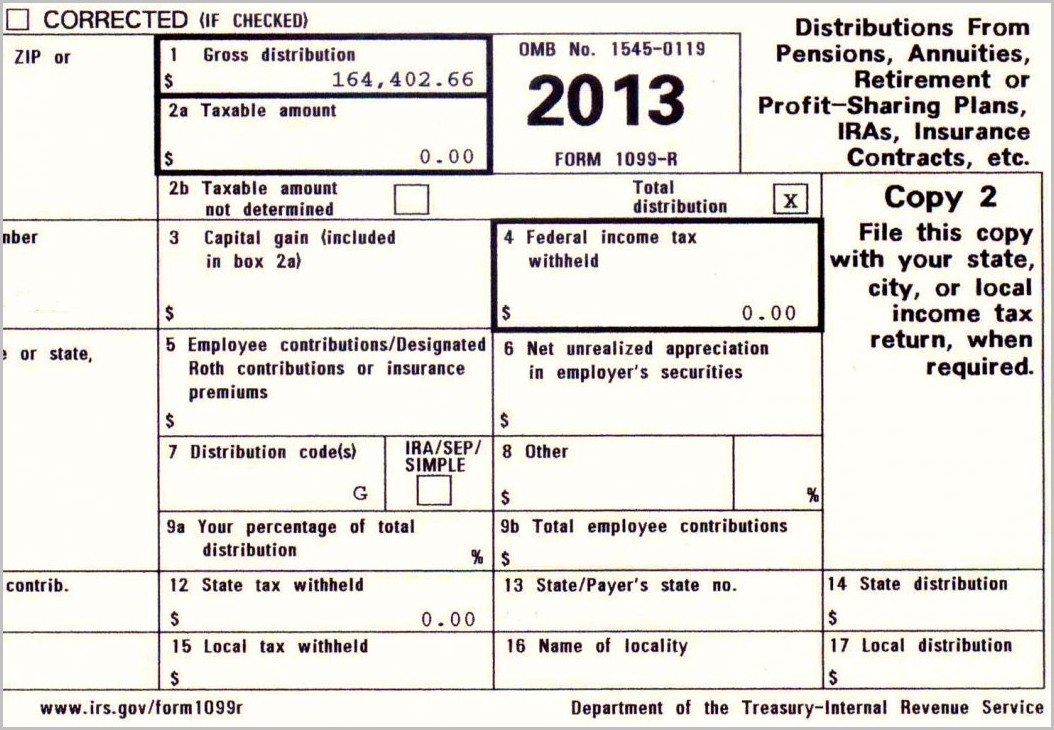 Irs Form 1099 A 2014