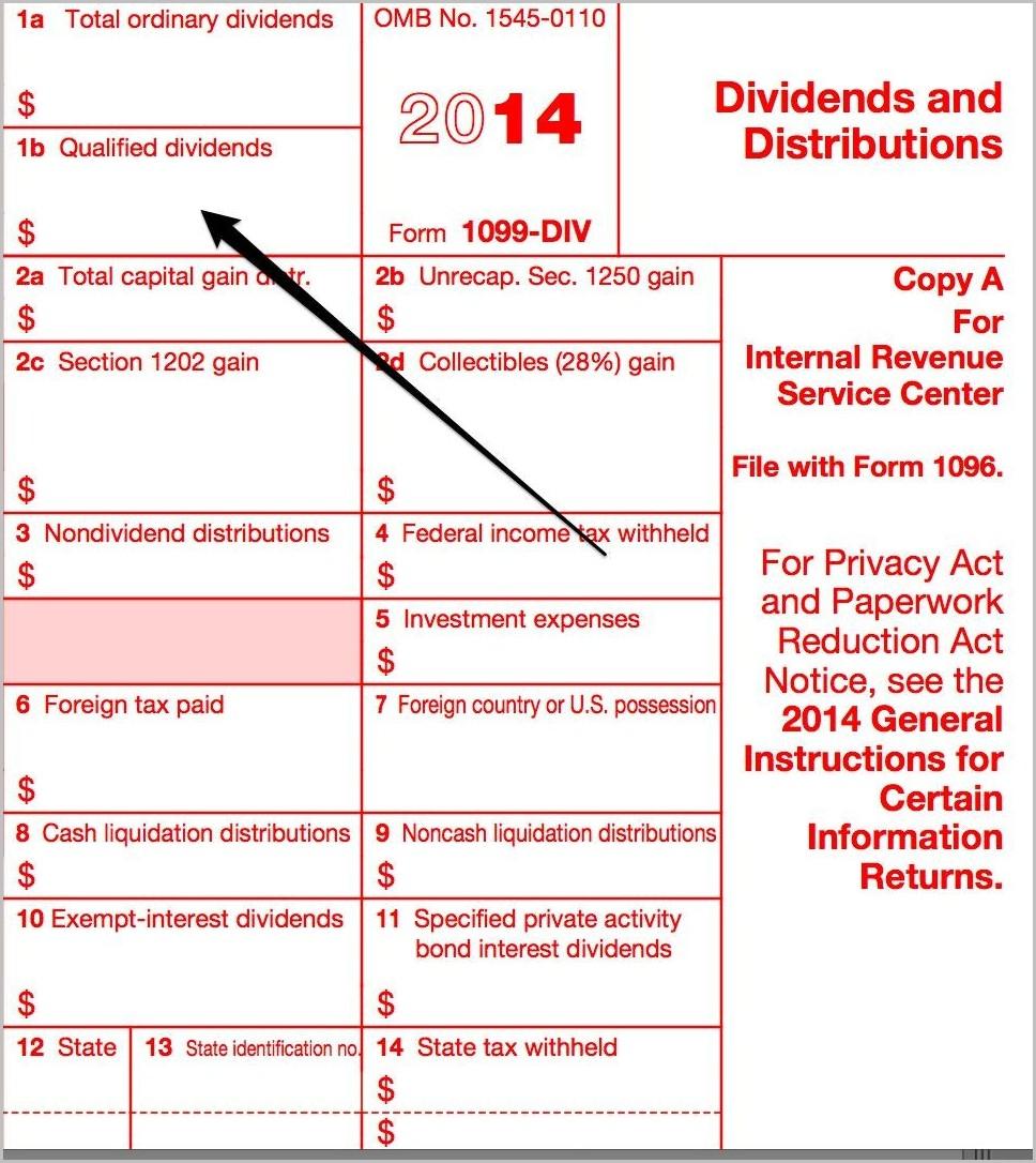 Irs Form 1099 Div 2014
