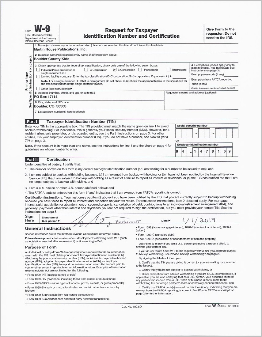 Irs Form 1099 For Non Profit