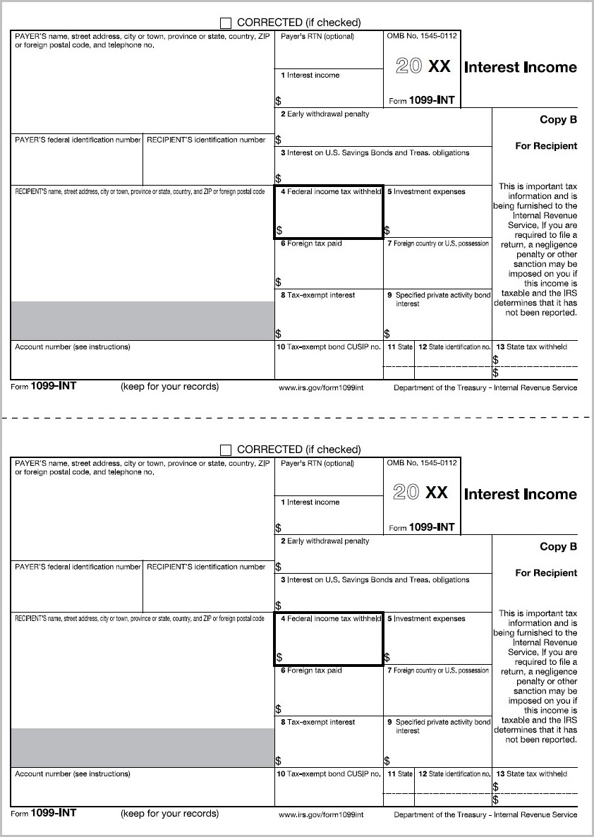 Irs Form 1099 S 2015