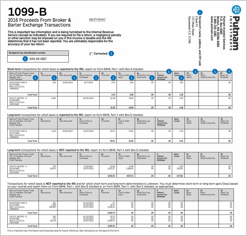 Irs Forms 1099 Q