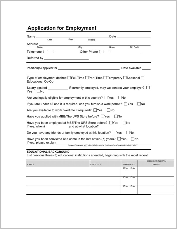 Kfc Application Form Jamaica