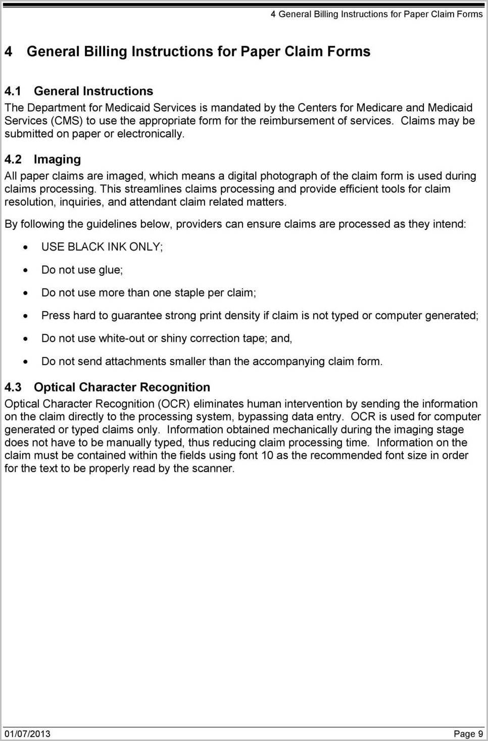 Ky Medicaid Application Form