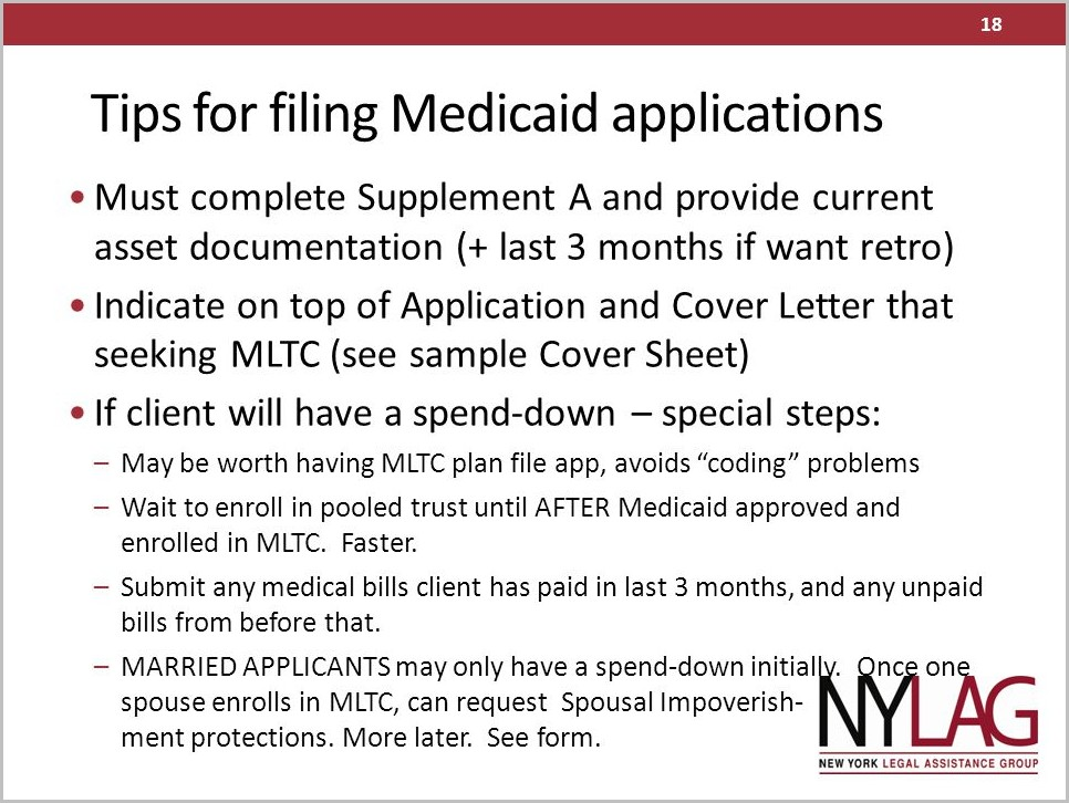 Medicaid Application Form Rochester Ny