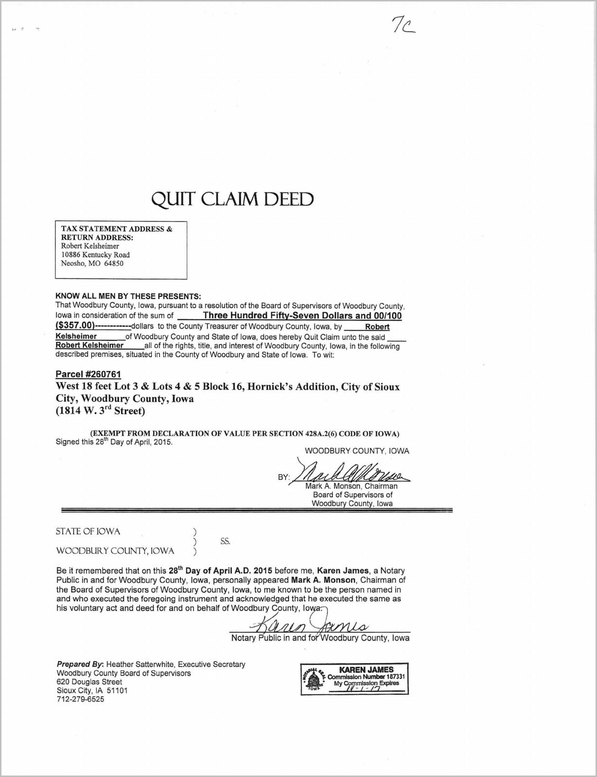 Michigan Grant Deed Form