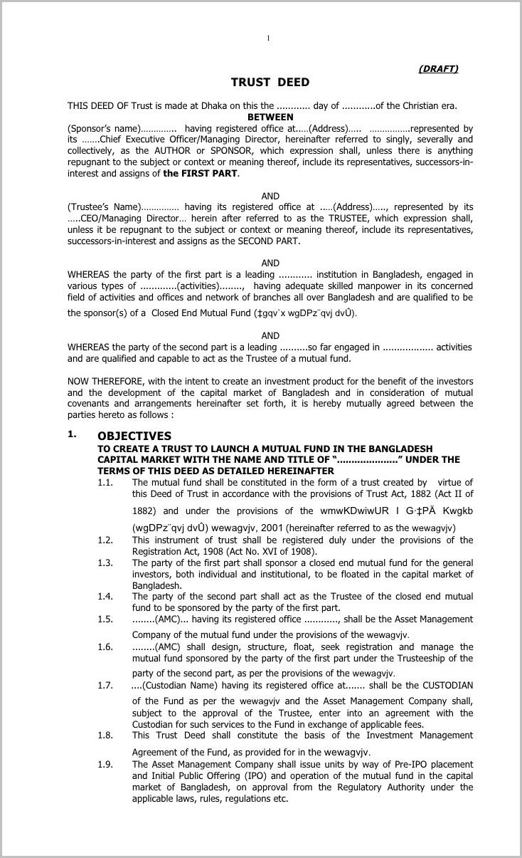 New Hampshire Warranty Deed Form