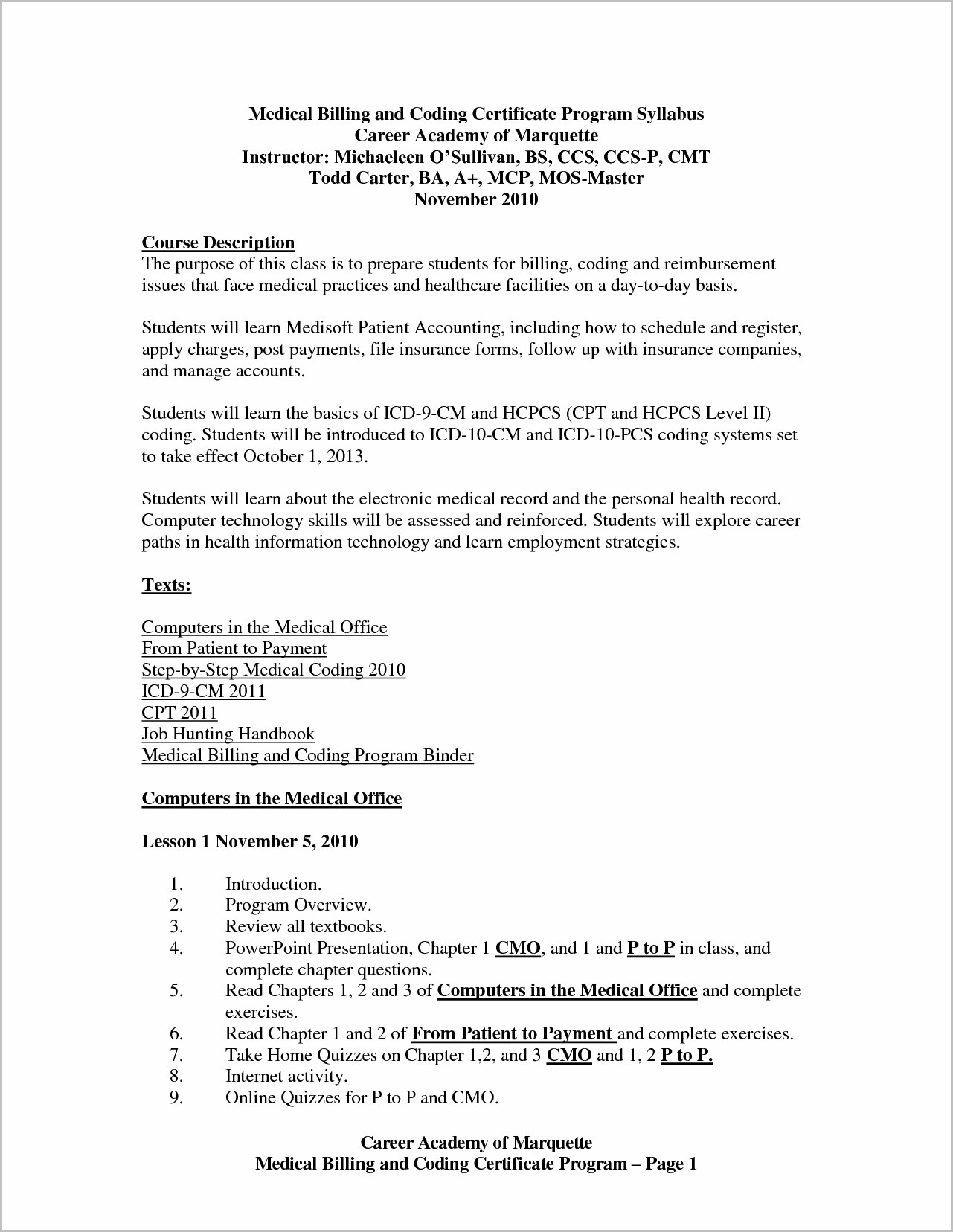 Resume Cover Letter Samples For Medical Billing And Coding