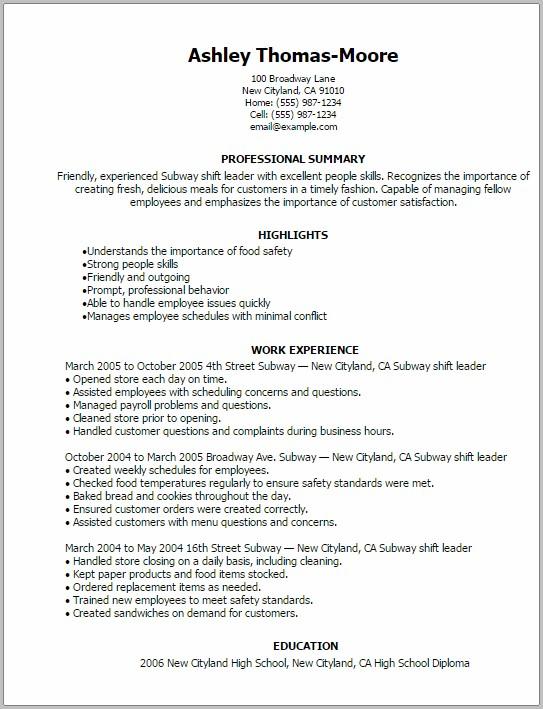 Resume Cover Letter Sandwich Maker