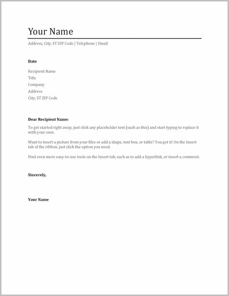 Resumes And Cover Letters Online