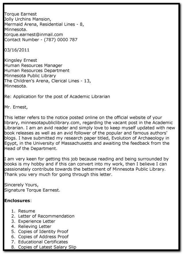 Sample Cover Letter For Assistant Professor Job