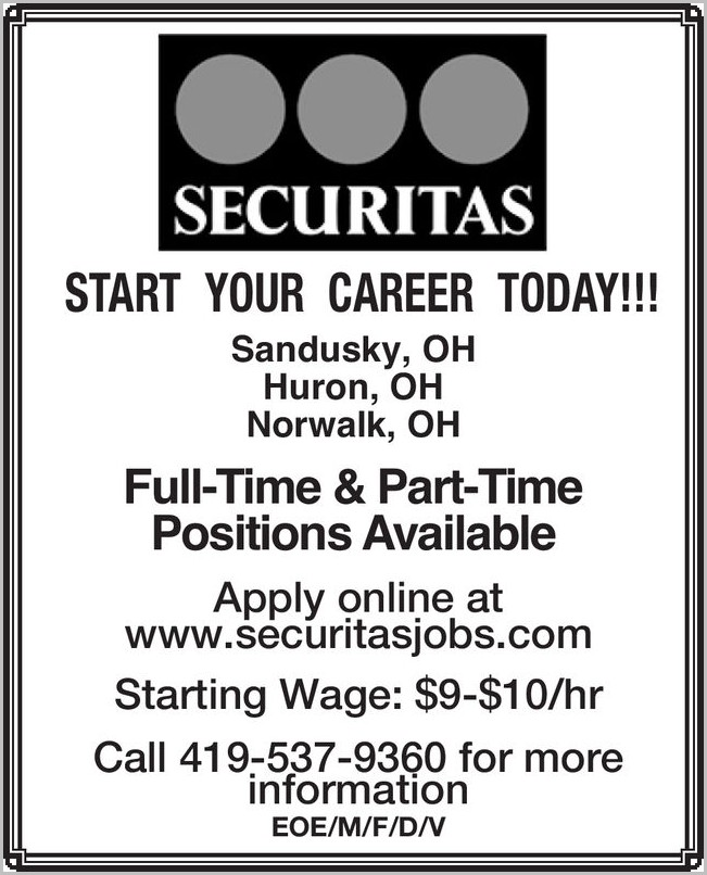 Securitas Job Application Online