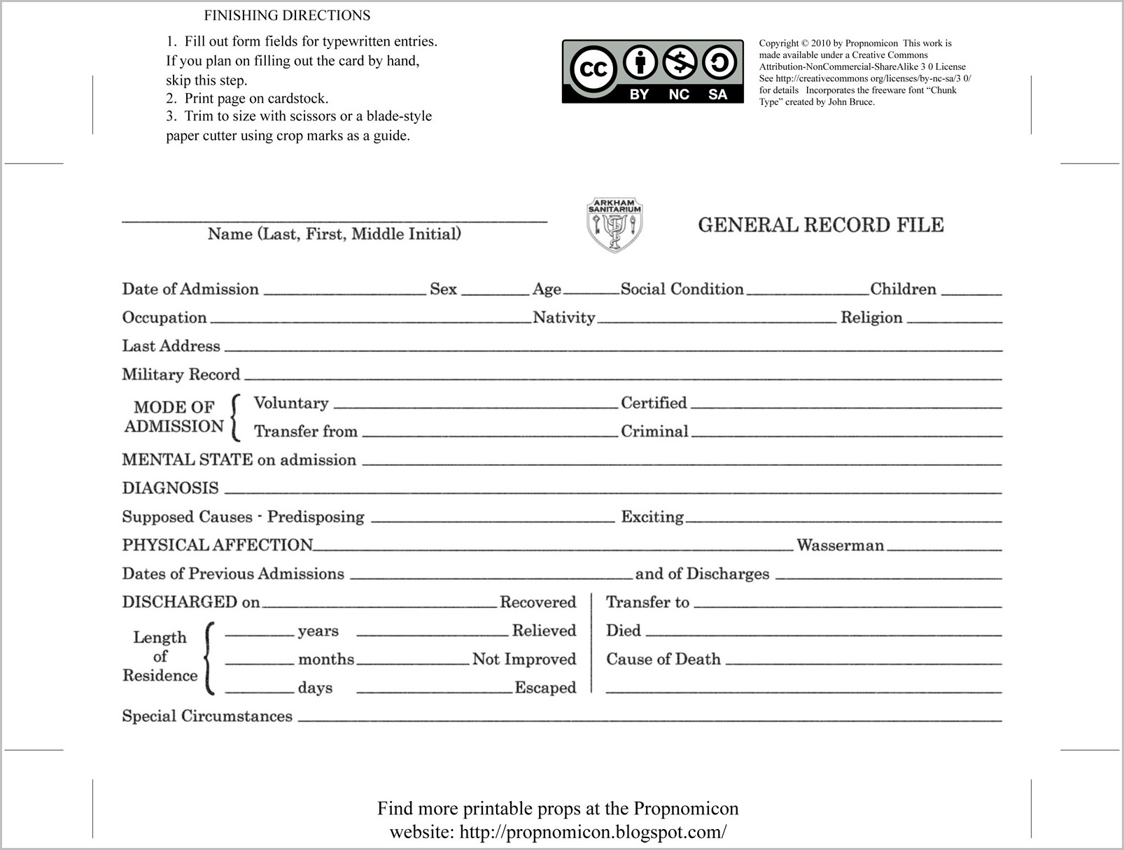 South Carolina Divorce Complaint Form