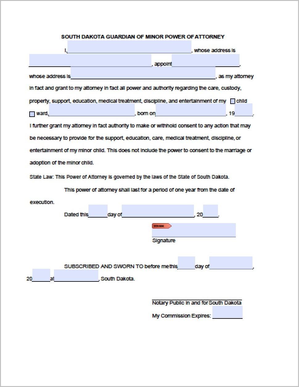 South Dakota Medicaid Application Form