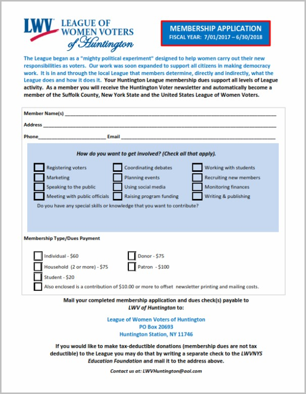 Suffolk County Medicaid Application Form