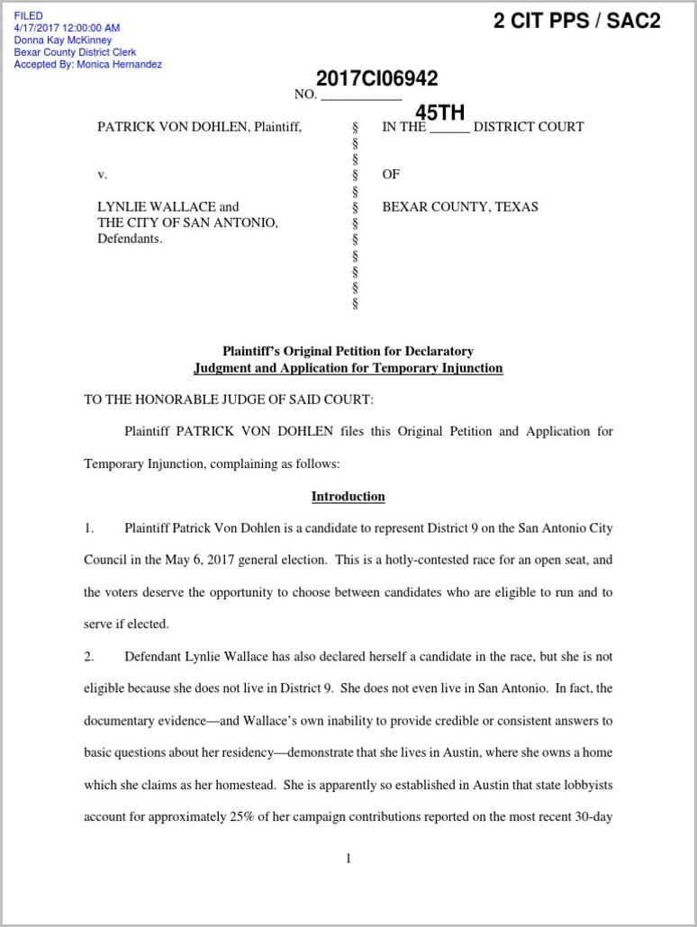 Warranty Deed Form Bexar County
