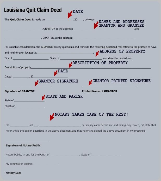 Warranty Deed Form Louisiana