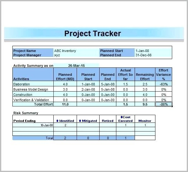 Work Plan Template Google Sheets