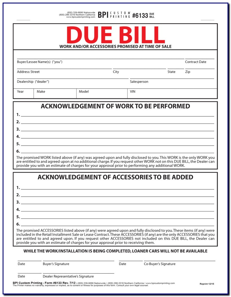 Bill Of Lading Short Form Non Negotiable