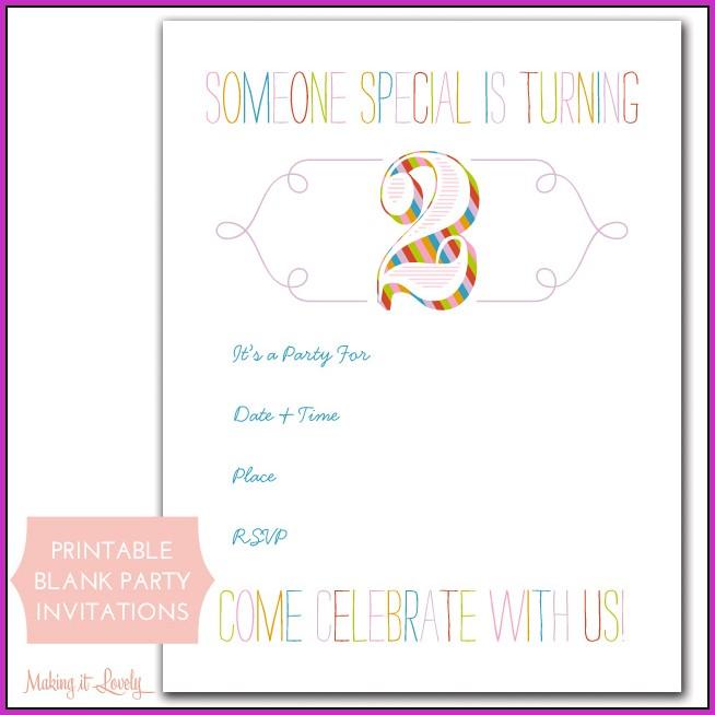 Birthday Invitation Maker Online Free