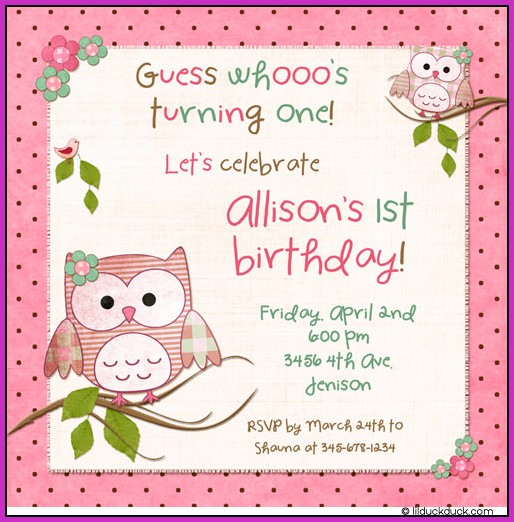 Birthday Invitation Templates App