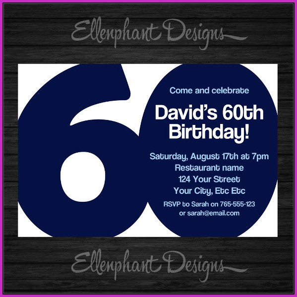 Birthday Invitation Templates For Guys