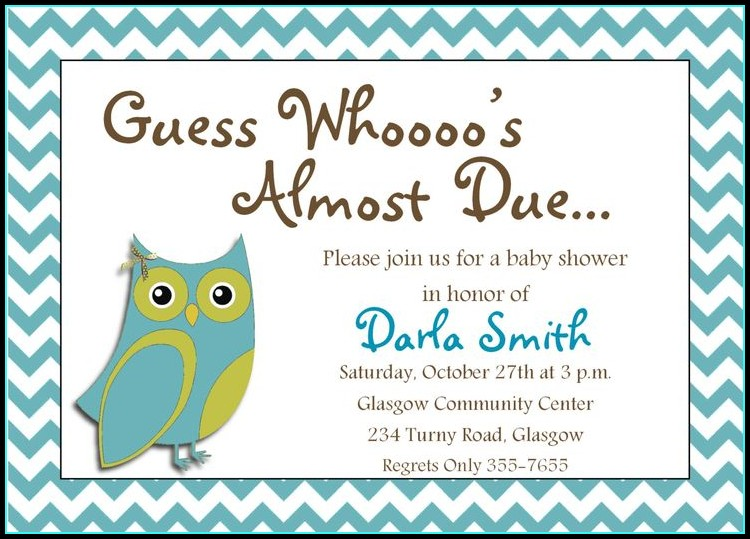 Free Baby Shower Invitation Maker Online