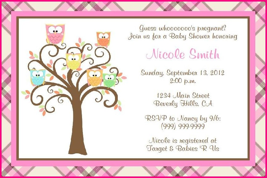 Free Printable Invitation Templates For Baby Shower