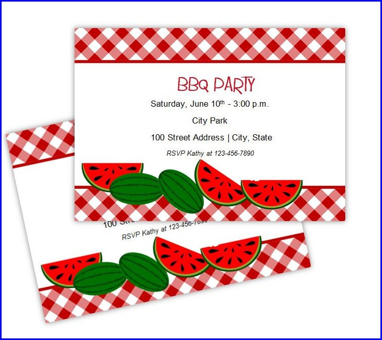 Picnic Invitation Templates Free Download