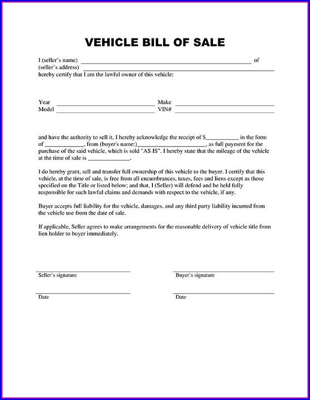 Real Estate Purchase Agreement Template Canada