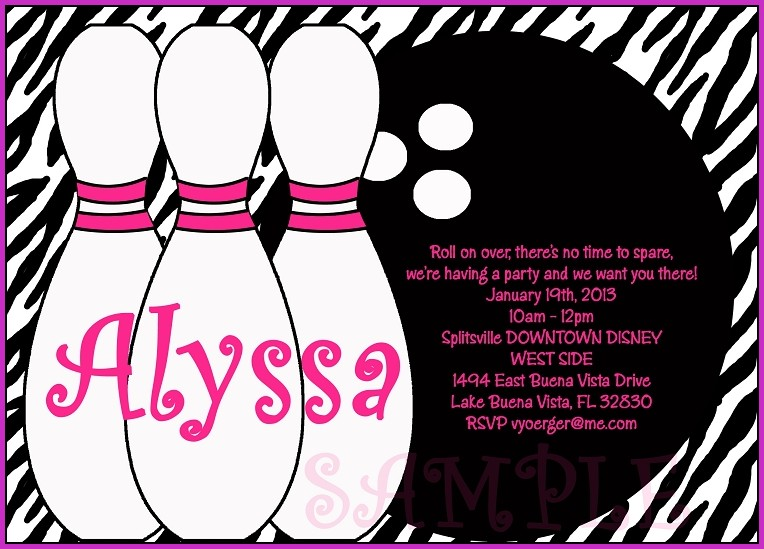 Zebra Birthday Party Invitation Templates