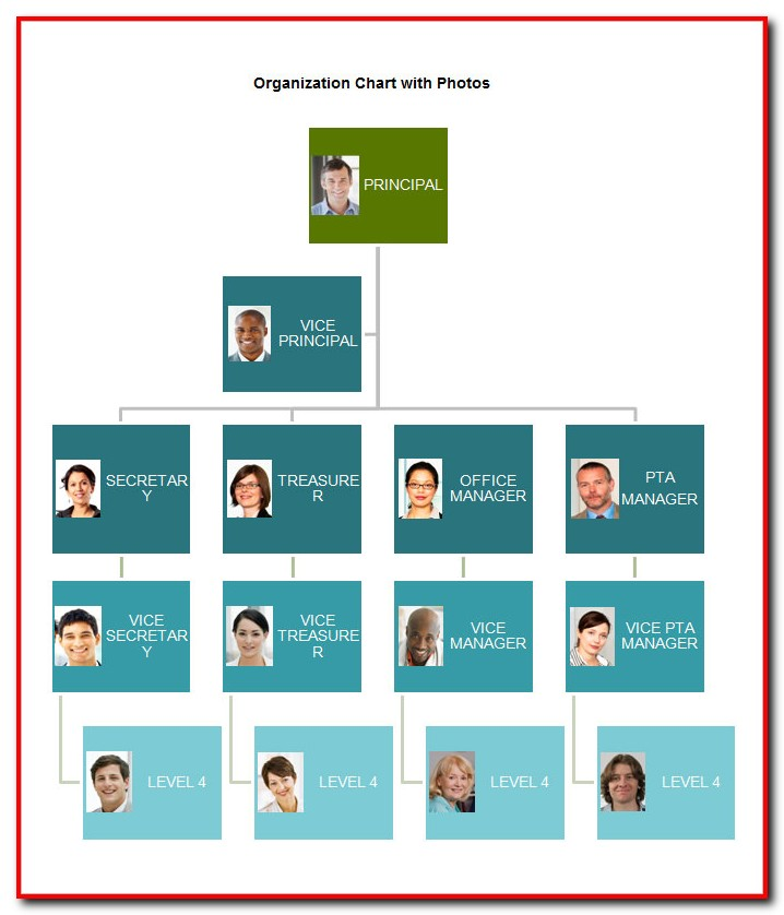 Free Organizational Chart Template For Word