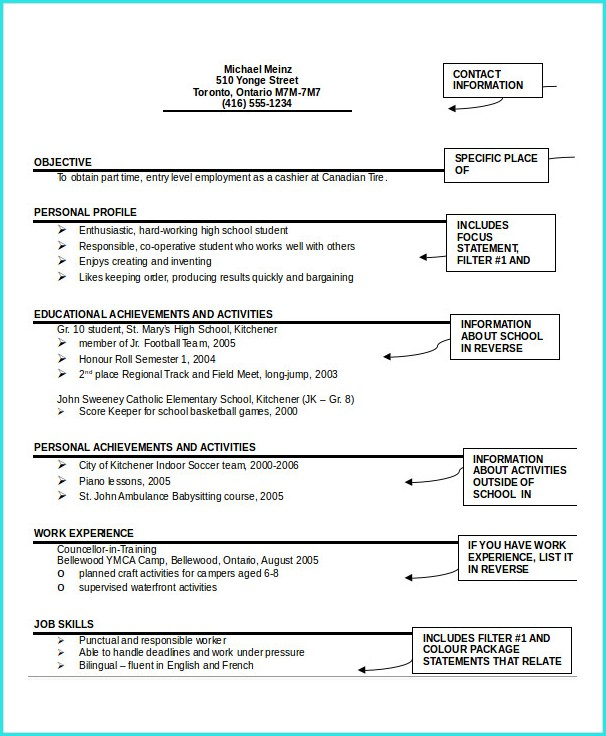 Download Resume Sample Pdf