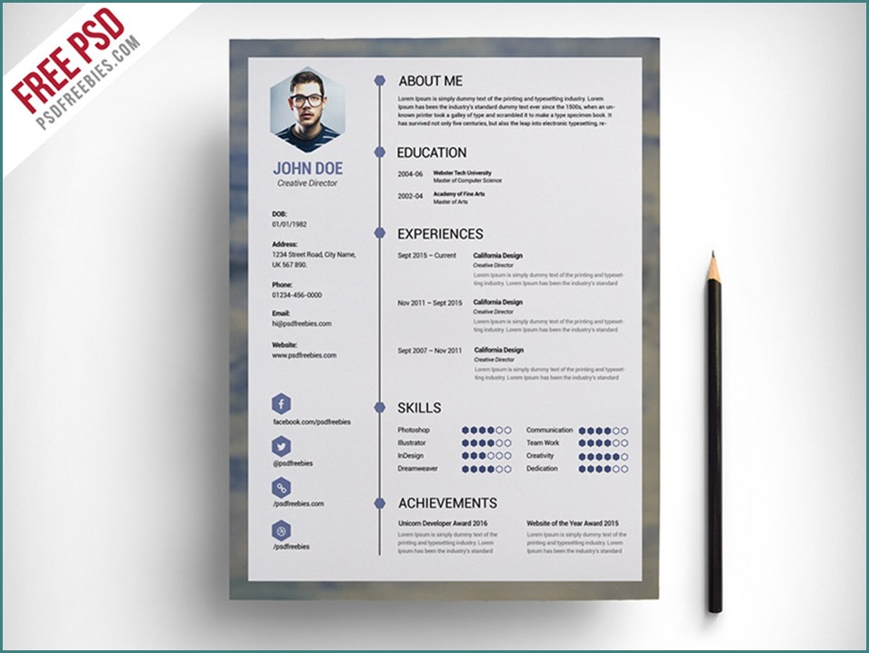 Best Free Modern Resume Templates