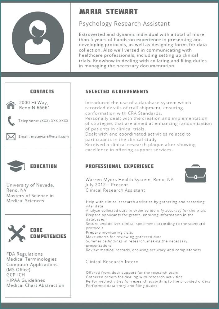 Free Modern Resume Templates 2018