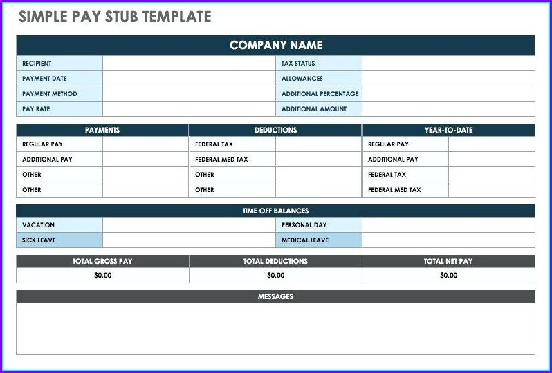 pay stub maker template templates