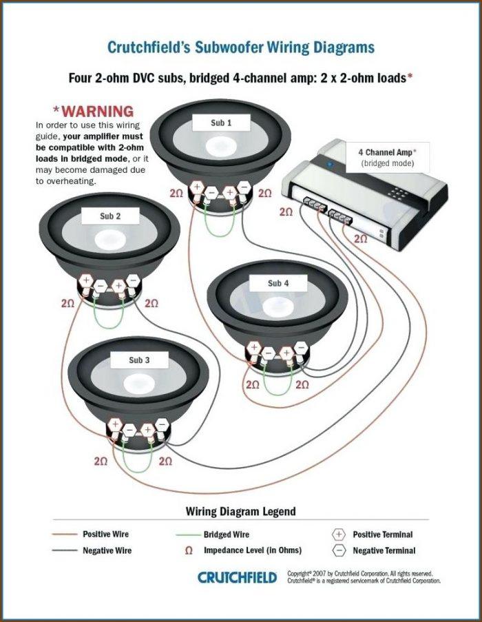 Car Stereo Speaker Wiring Diagram
