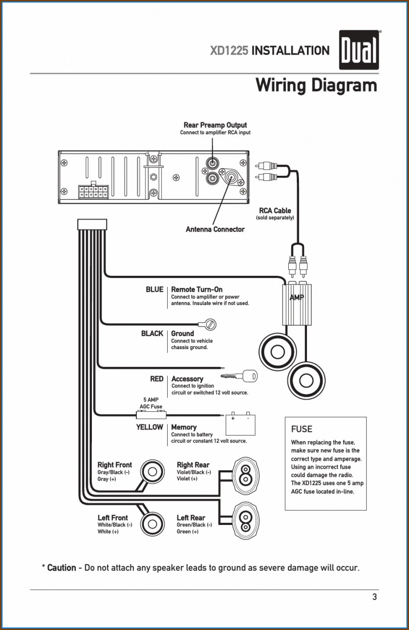 Dual Car Stereo Wiring Diagram